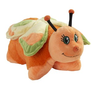 Magical butterflies... fun Pillow Pet!