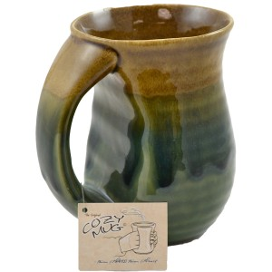 Enjoy a warm drink on a chilly day with your Hand Warming Cozy Mug!
