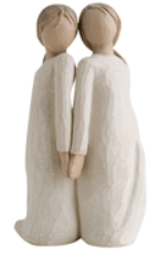 Willow tree Two Alike figurine