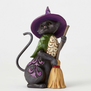 Black Cat Crossing Figurine | CoppinsGifts.com