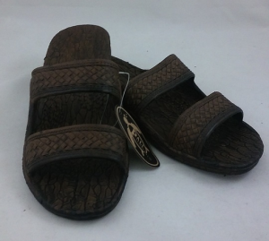 Brown Pali Hawaiian Shoes for Women | CoppinsGifts.com