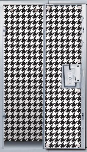 Locker Lookz Black and White Locker Wallpaper | CoppinsGifts.com