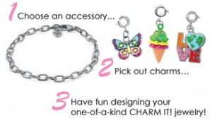 Charm It Bracelet with Charms and Design Steps | CoppinsGifts.com