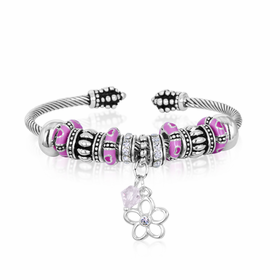 davinci beaded charm bracelet | CoppinsGifts.com