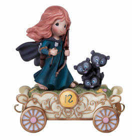 Merida from Brave Precious Moments Disney Princess Train | CoppinsGifts.com