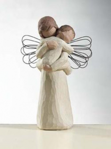 Willow Tree Angel Embracing Baby | CoppinsGifts.com